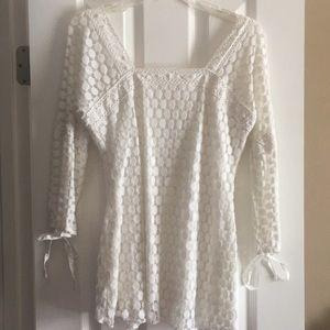 White beautiful top